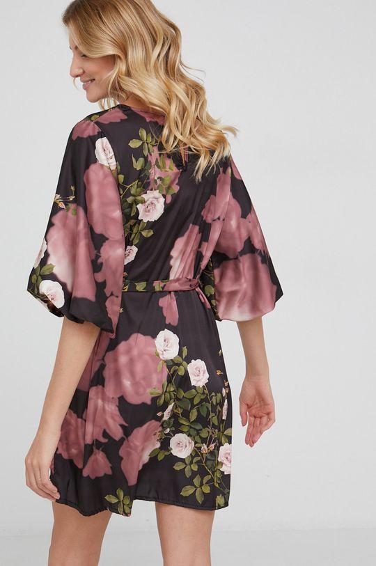 Answear Lab - Sukienka 10 % Acetat, 90 % Poliamid