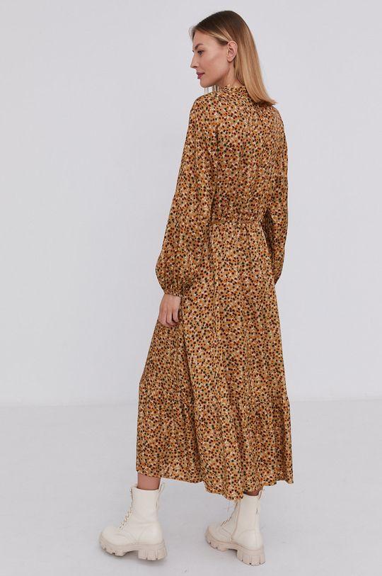 Answear Lab - Sukienka z domieszką wełny 10 % Wełna, 90 % Wiskoza