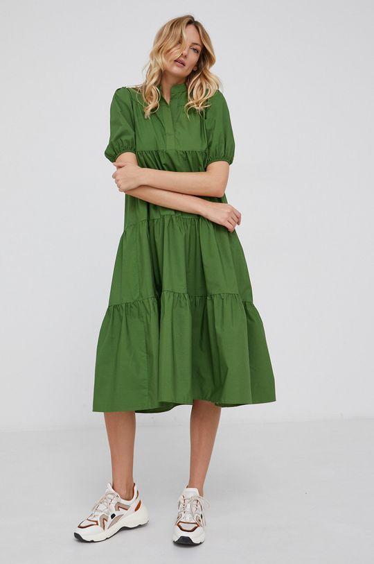 Answear Lab - Sukienka zielony