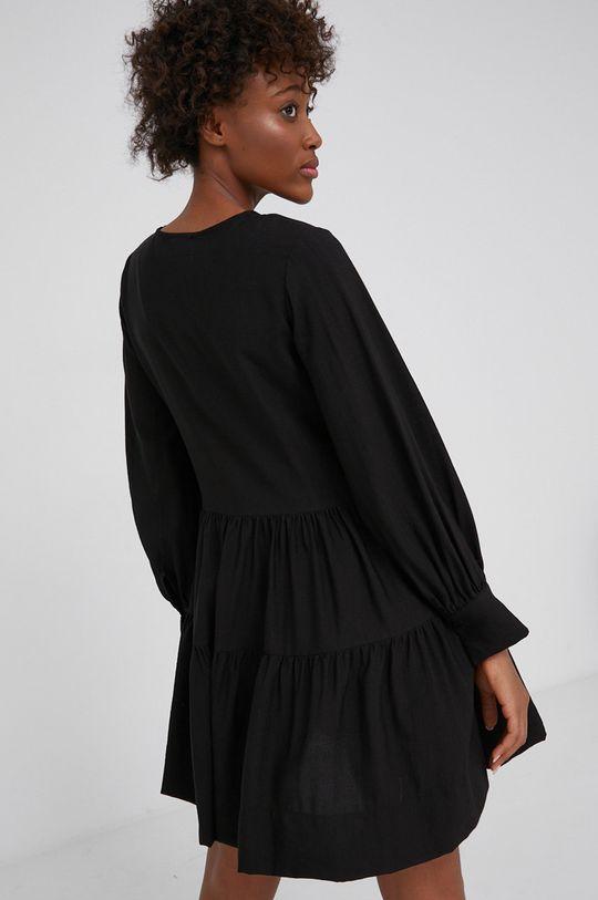 Answear Lab - Sukienka 50 % Bawełna, 50 % Poliester