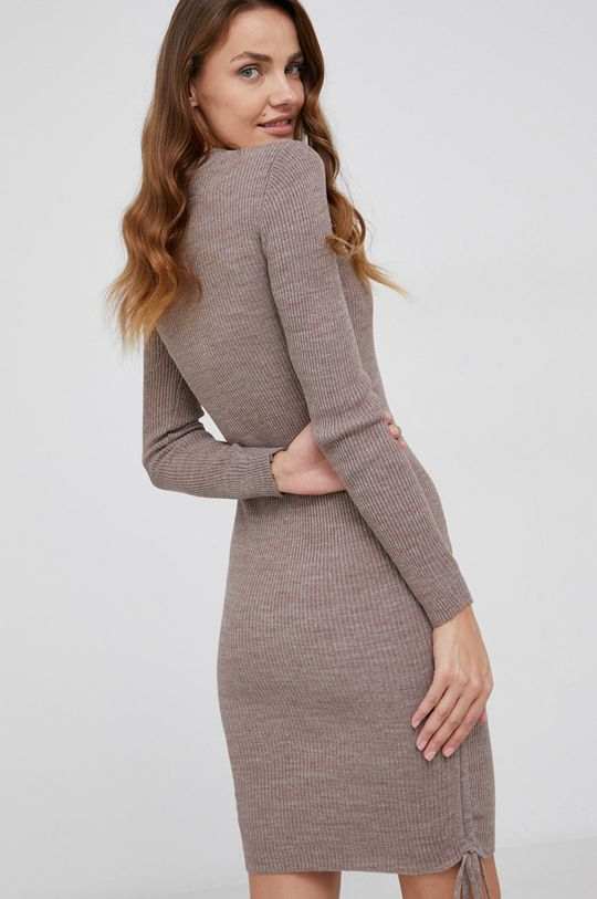 Answear Lab - Sukienka 35 % Akryl, 50 % Bawełna, 15 % Elastan