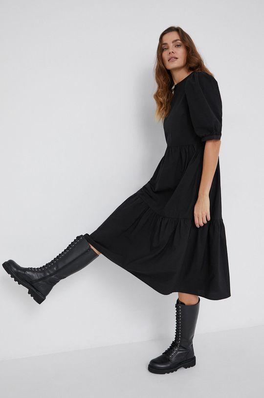 Answear Lab - Sukienka czarny