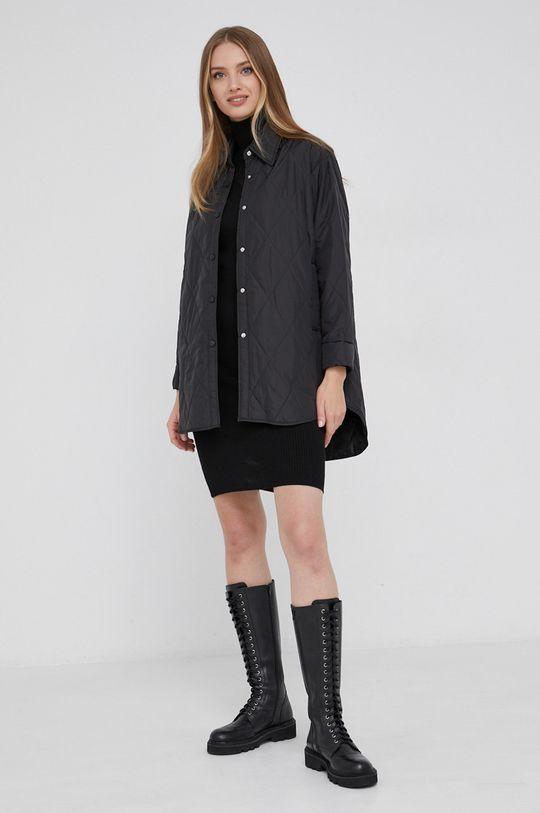 Sukienka answear.LAB X kolekcja limitowana GIRL POWER czarny