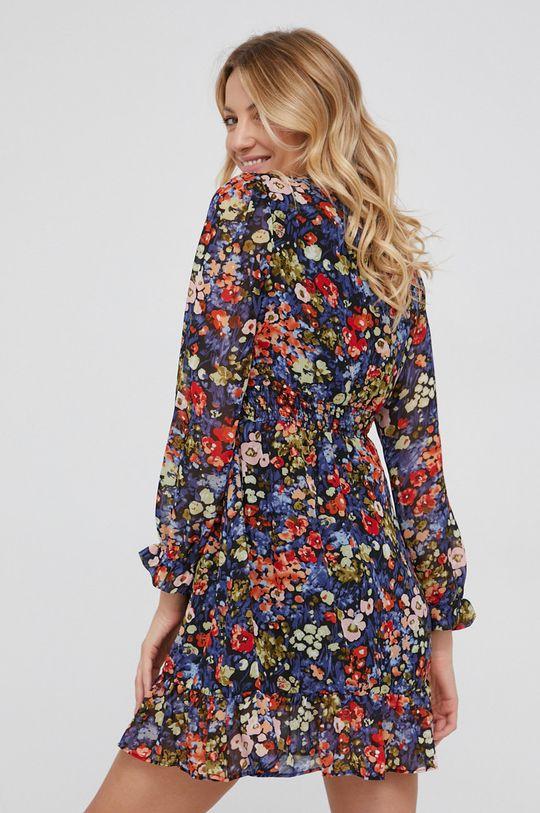 Answear Lab - Sukienka 20 % Acetat, 50 % Poliester, 30 % Wiskoza