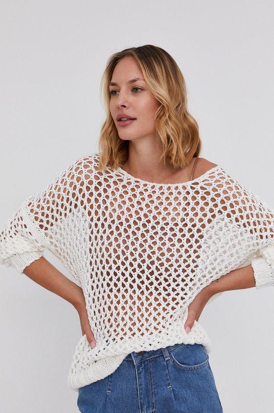 biały Answear Lab - Sweter