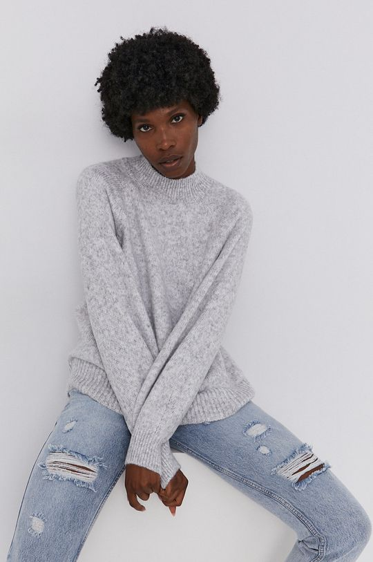 Answear Lab - Sweter szary