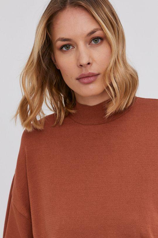 miedziany Answear Lab - Sweter