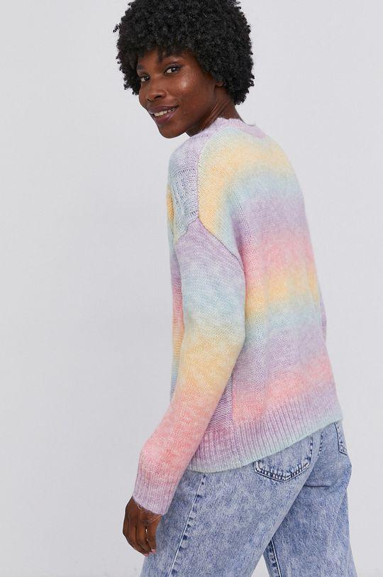 Answear Lab - Sweter z domieszką wełny 58 % Akryl, 9 % Poliamid, 29 % Poliester, 4 % Wełna