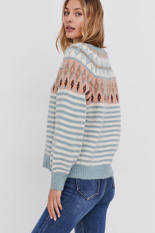 Answear Lab - Sweter z domieszką wełny 55 % Akryl, 15 % Moher, 30 % Wełna
