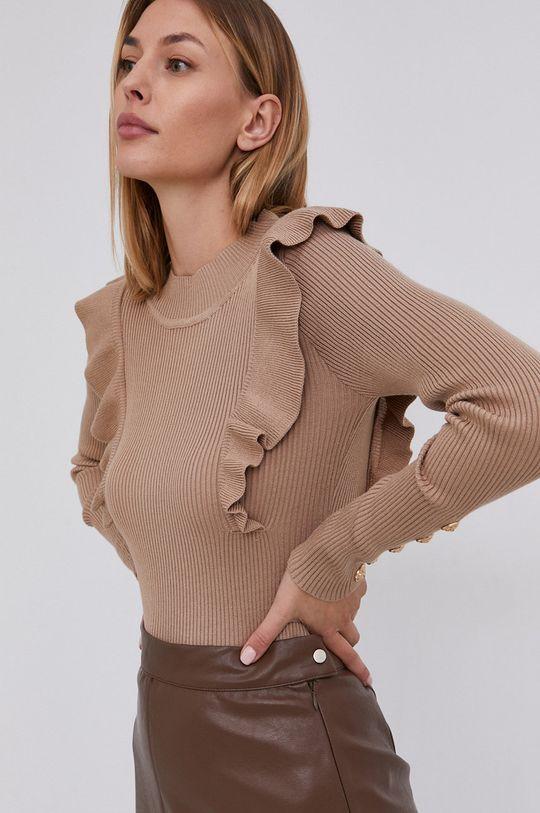maro auriu Answear Lab - Pulover De femei