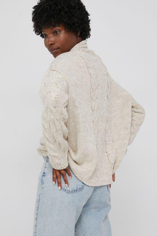 Answear Lab - Sweter z domieszką wełny 50 % Akryl, 50 % Wełna