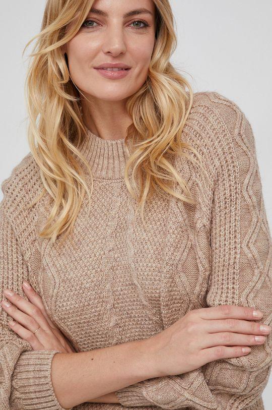 beżowy Answear Lab - Sweter