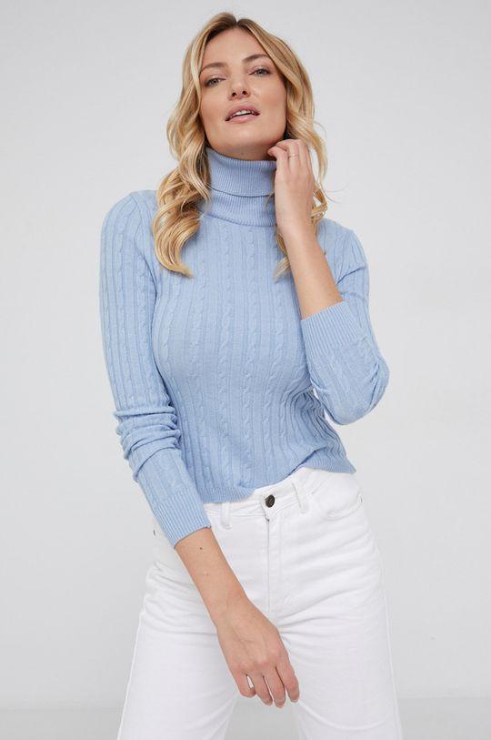 niebieski Answear Lab - Sweter Damski