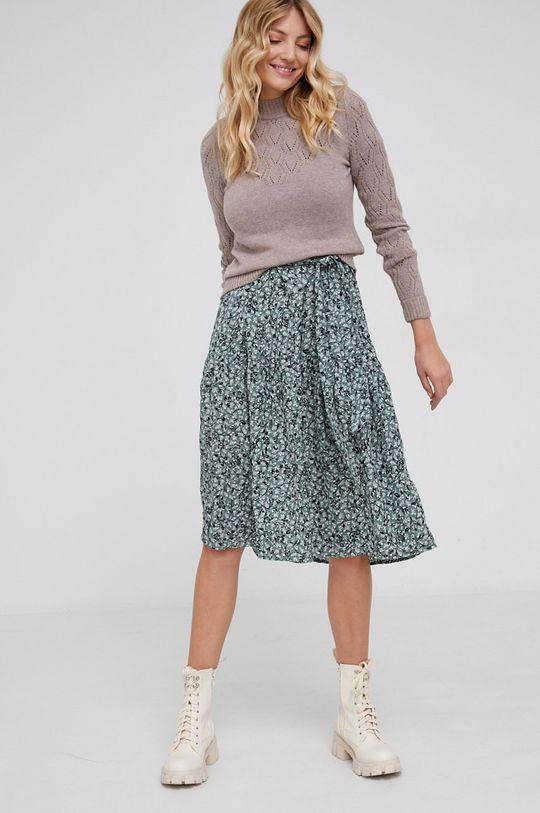 Answear Lab - Sweter beżowy