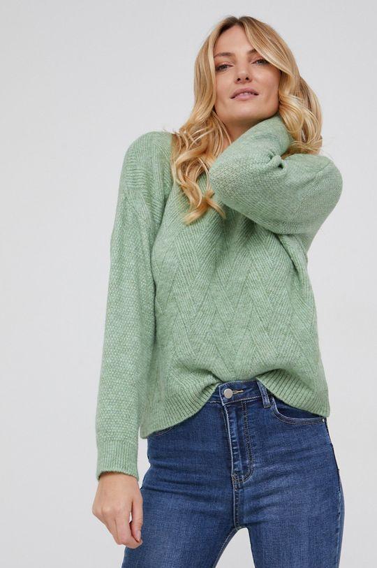 Answear Lab - Sweter miętowy
