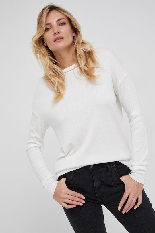 biały Answear Lab - Sweter Damski