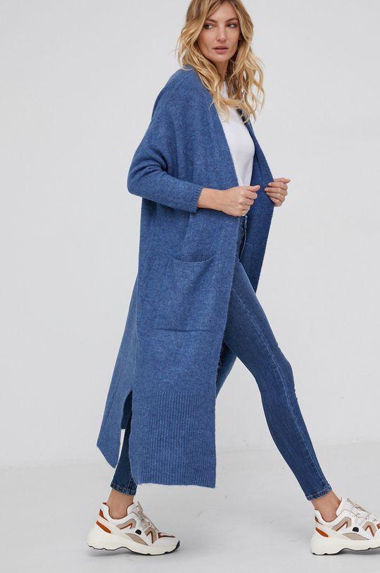 niebieski Answear Lab - Kardigan Damski
