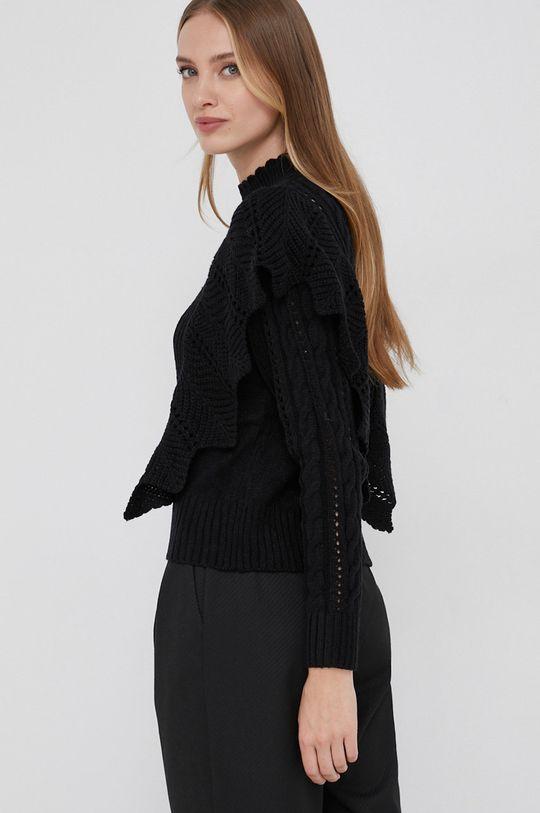Answear Lab - Sweter z domieszką wełny 60 % Nylon, 10 % Wełna, 30 % Wiskoza