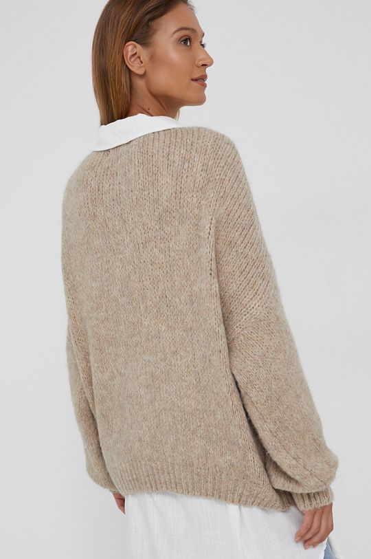 Answear Lab - Sweter z domieszką wełny 30 % Akryl, 20 % Moher, 30 % Poliamid, 20 % Wełna