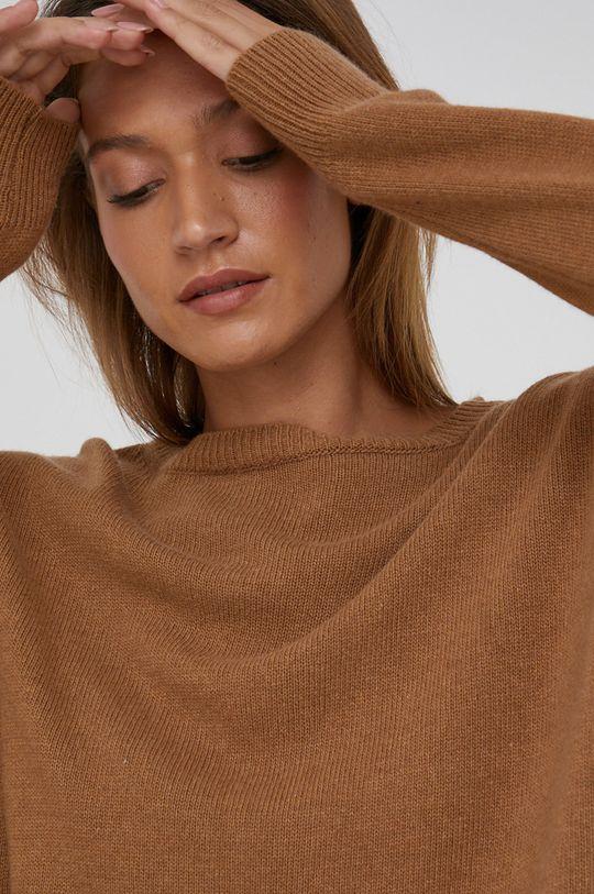Answear Lab - Sweter z domieszką kaszmiru Damski