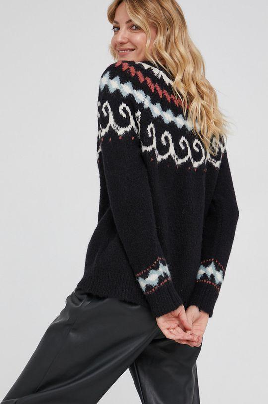 Answear Lab - Sweter z domieszką wełny 10 % Moher, 10 % Wełna, 30 % Wiskoza, 50 % Poliester z recyklingu