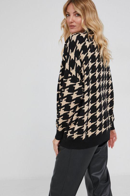 Answear Lab - Sweter 20 % Elastan, 30 % Modal, 50 % Wiskoza
