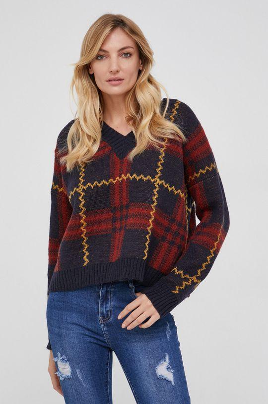 Answear Lab - Sweter z domieszką wełny 30 % Akryl, 20 % Moher, 20 % Wełna, 30 % Wiskoza