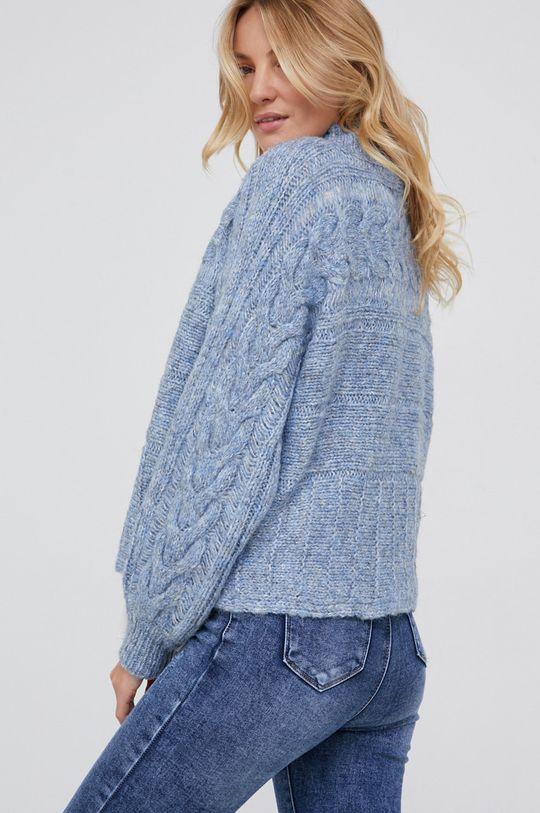 Answear Lab - Sweter wełniany 50 % Akryl, 10 % Moher, 40 % Wełna