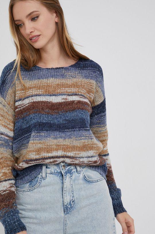 Answear Lab - Sweter z domieszką wełny 50 % Akryl, 10 % Moher, 40 % Wełna