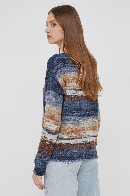 niebieski Answear Lab - Sweter z domieszką wełny