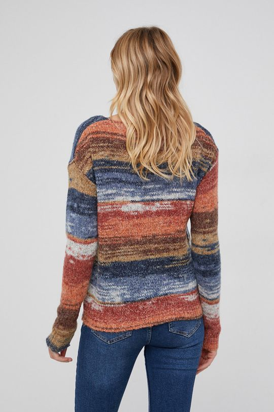 pomarańczowy Answear Lab - Sweter wełniany