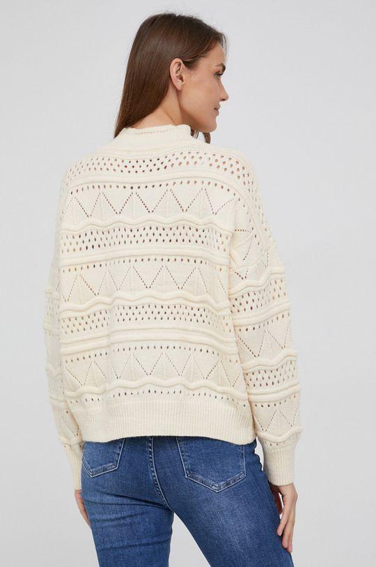 Answear Lab - Sweter z dodatkiem wełny 50 % Akryl, 30 % Poliamid, 20 % Wełna