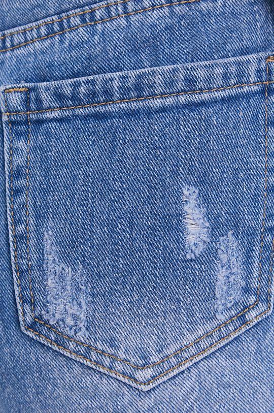 modrá Answear Lab - Džínové šortky