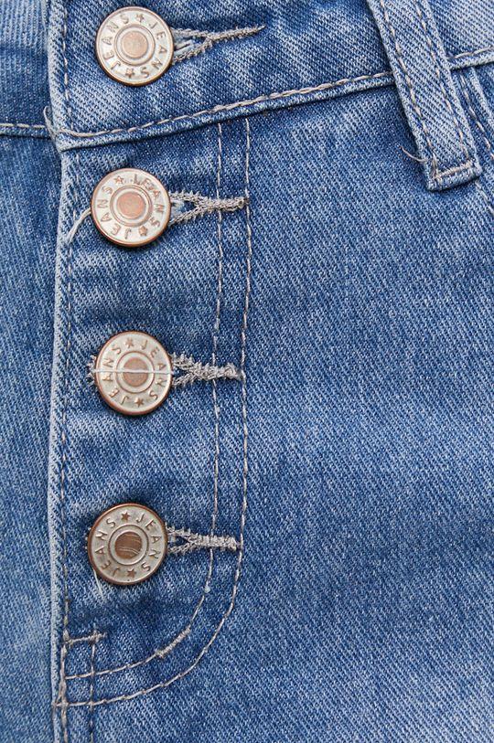 niebieski Answear Lab - Szorty jeansowe