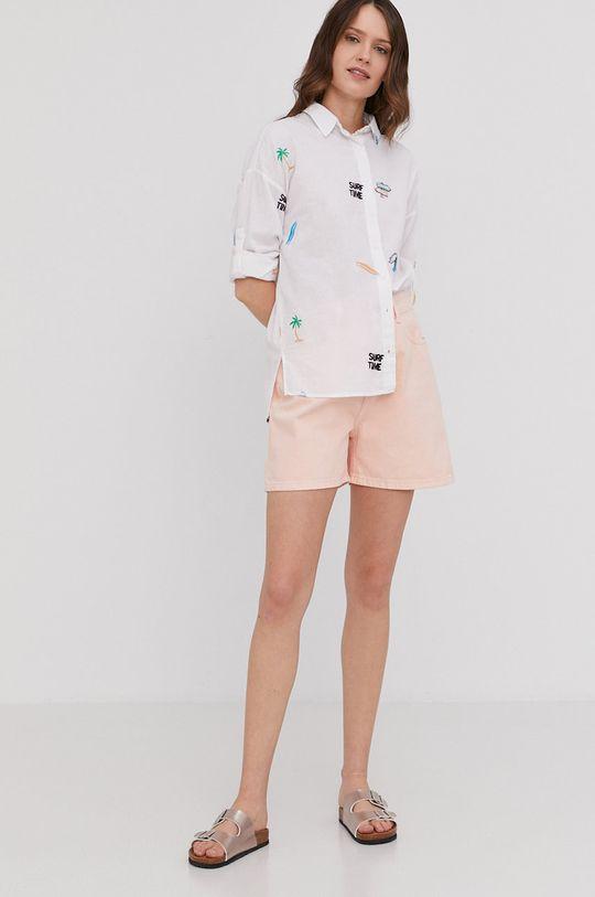 Answear Lab - Pantaloni scurti roz