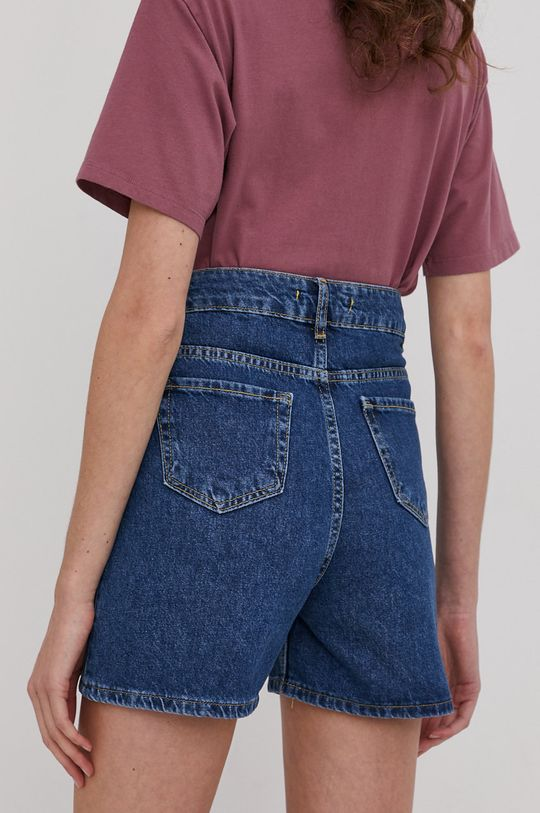 Answear Lab - Džínové šortky  100% Bavlna