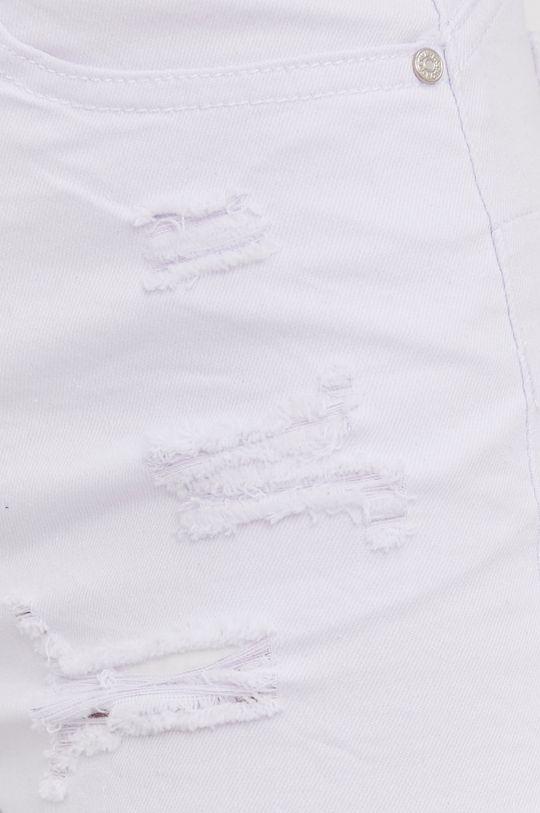 biały Answear Lab - Szorty jeansowe