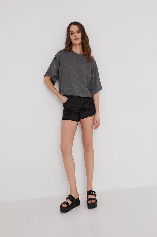 Answear Lab - Pantaloni scurti negru