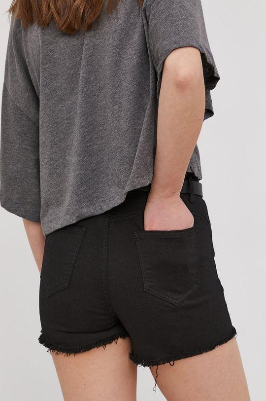 Answear Lab - Pantaloni scurti  80% Bumbac, 2% Elastan, 18% Poliester