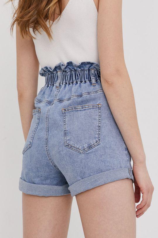 niebieski Answear Lab - Szorty jeansowe Damski
