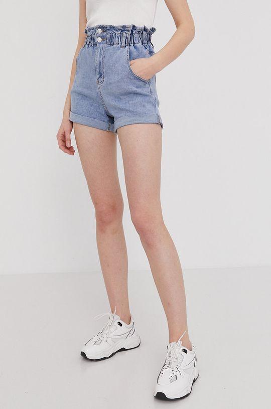 Answear Lab - Szorty jeansowe 80 % Bawełna, 2 % Elastan, 18 % Poliester