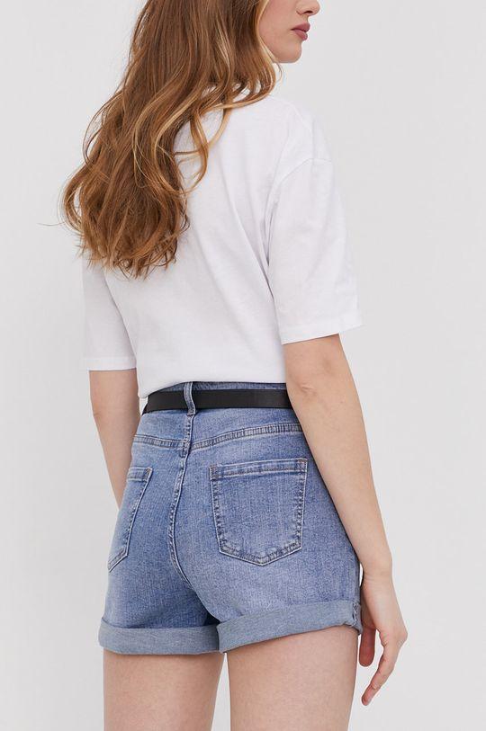 Answear Lab - Szorty jeansowe 62 % Bawełna, 2 % Elastan, 19 % Poliester, 17 % Wiskoza