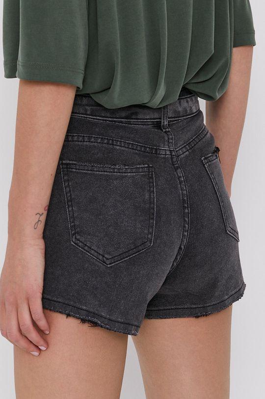Answear Lab - Szorty jeansowe 95 % Bawełna, 5 % Elastan