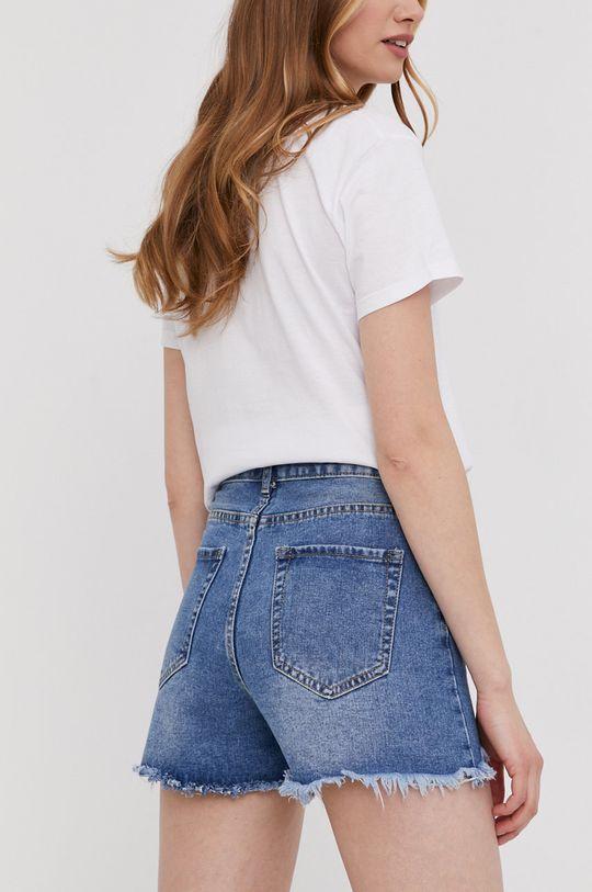 Answear Lab - Szorty jeansowe 100 % Bawełna