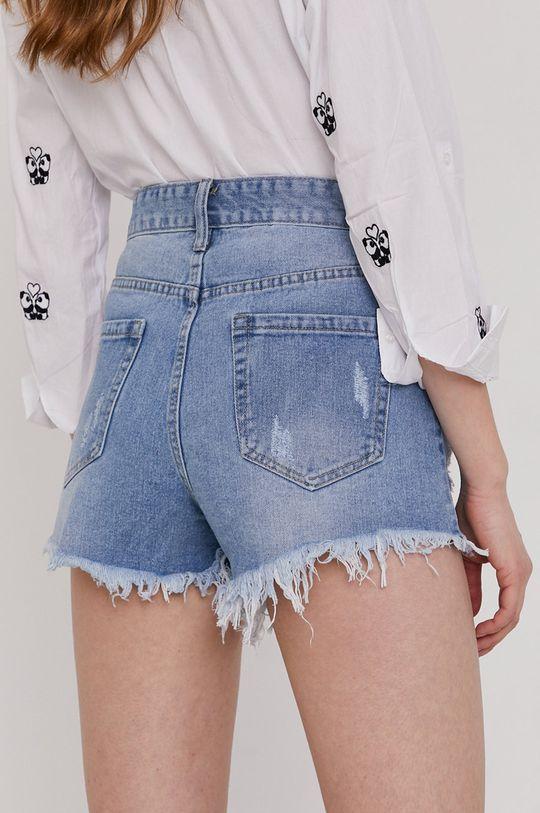 Answear Lab - Pantaloni scurti jeans  100% Bumbac