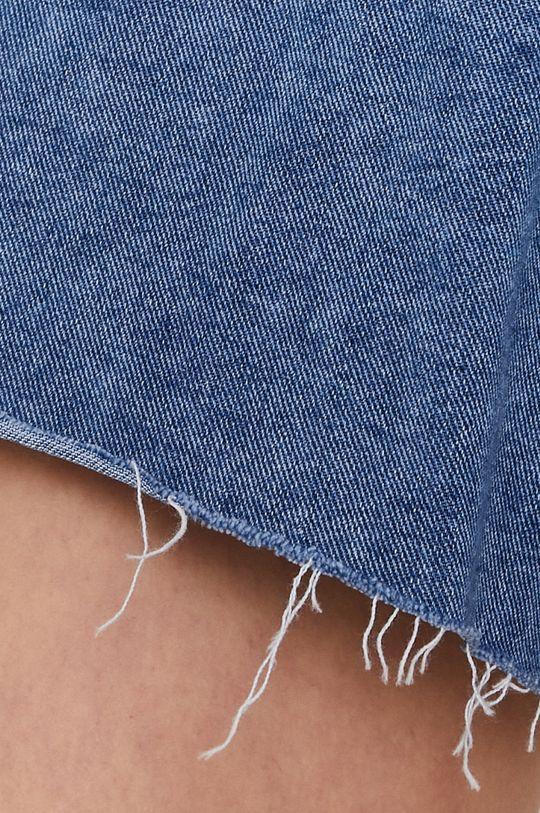 granatowy Answear Lab - Szorty jeansowe