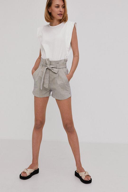 Answear Lab - Pantaloni scurti bleumarin