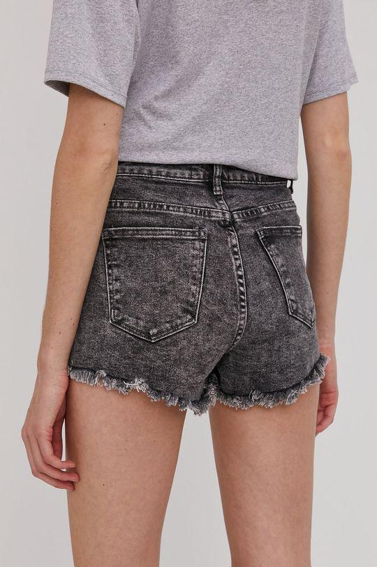 Answear Lab - Szorty jeansowe 98 % Bawełna, 2 % Elastan