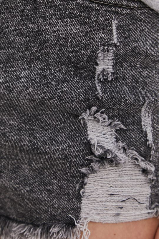 szary Answear Lab - Szorty jeansowe