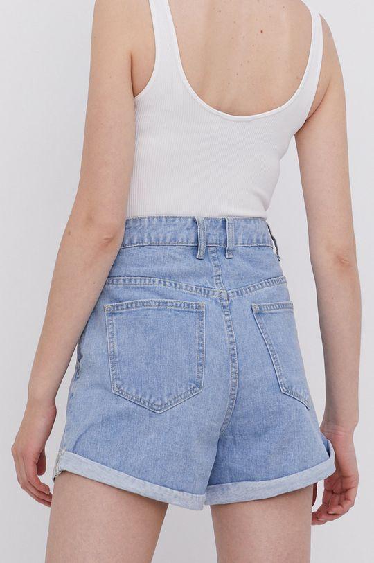 Answear Lab - Bavlnené rifľové šortky  100% Bavlna